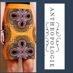 Anthropologie | Maeve Clementina Pencil Skirt Sz 4